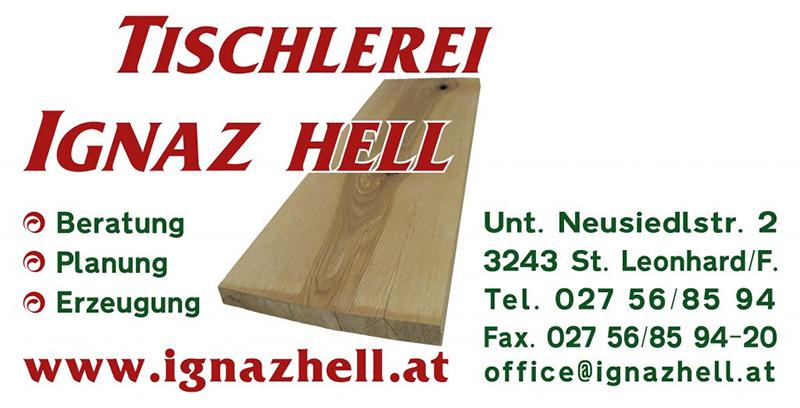 _Tischlerei Ignaz Hell